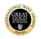 Medalla Great Gold para Vino El Misterio Bodega Picos Cabariezo Liebana