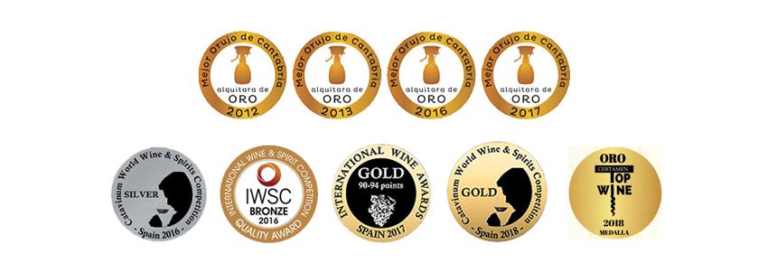 medallas-aguardiente-orujo-picos-cabariezo-liebana