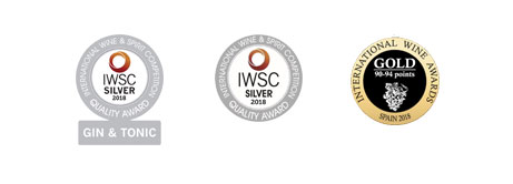 Medallas Ginebra Picos de Cabariezo 2018