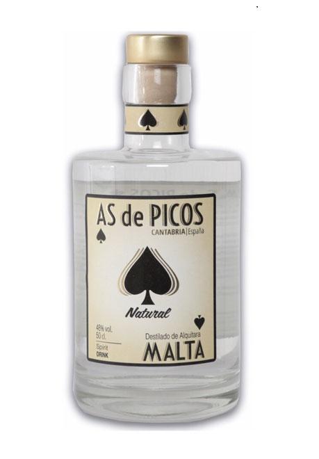 Nuevo Whisky de Malta, destilado en Alquitara, Picos de Cabariezo